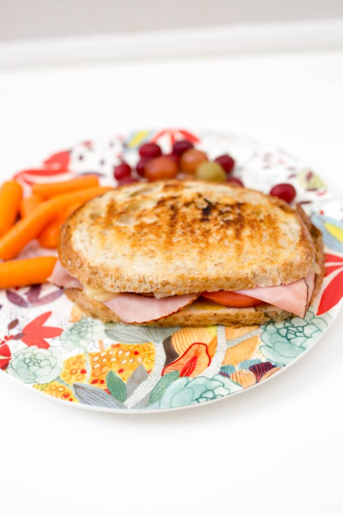 Ham and swiss panini with honey mustard recipe: ready in under 10 minutes!