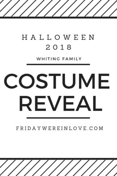 2018 family halloween costume reveal