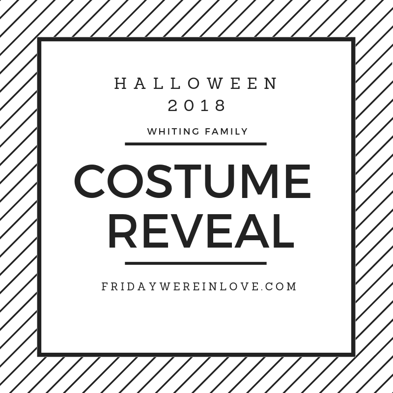 2018 family halloween costume reveal