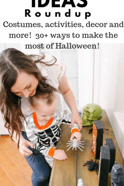 Halloween Ideas Roundup. Costume ideas, Halloween activities, decor, and 30+ ways to make the most of Halloween!