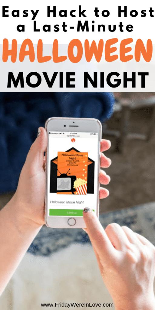 Host a Halloween Movie Night