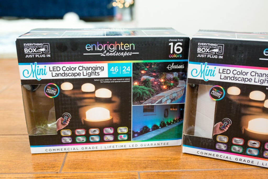 Outdoor Christmas Lighting Kit