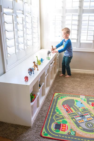 Playroom organization methods and toy organization tips