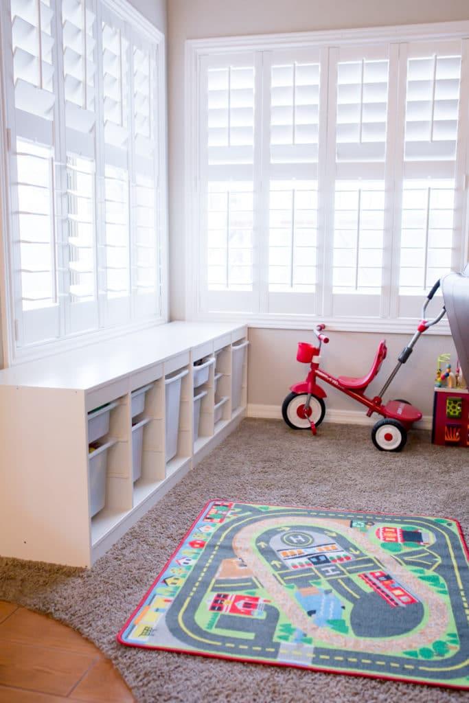 Playroom Organization and toy storage ideas