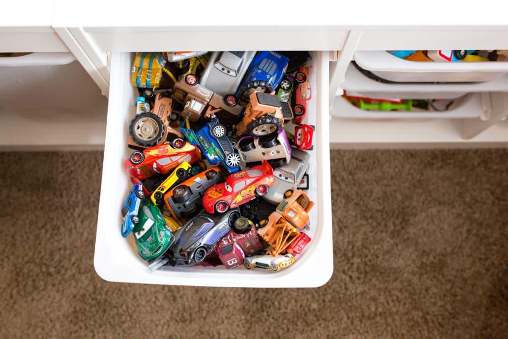 Toy organization and storage