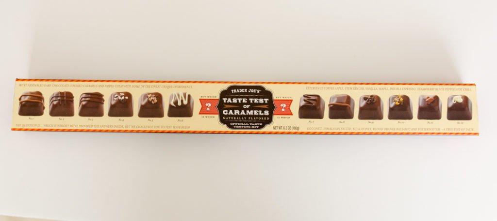 taste test of caramels