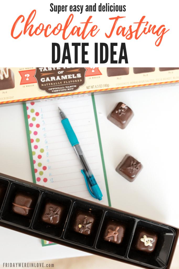 Chocolate Tasting Date Idea