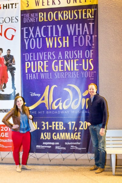 Aladdin the Musical Date Night