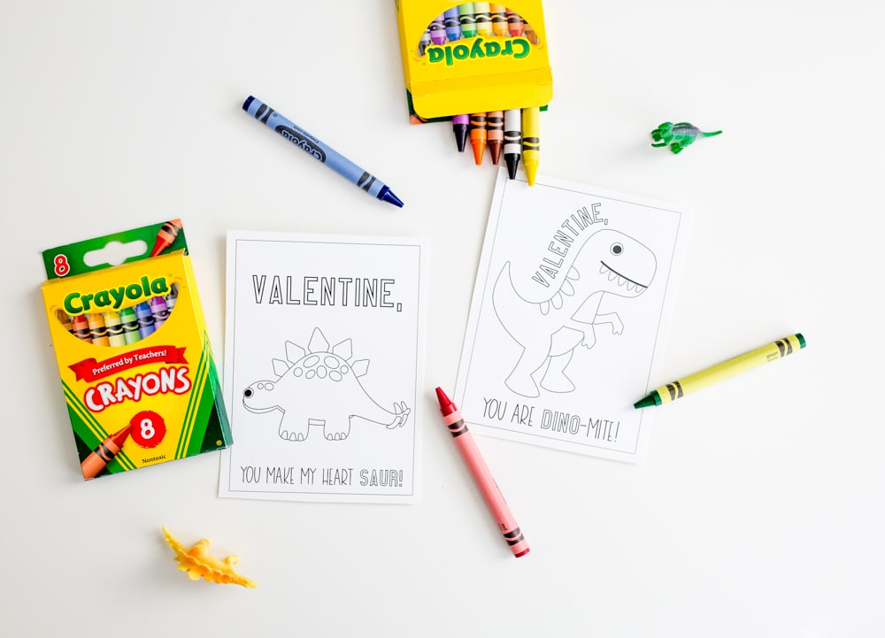 Easy Printable Valentines Cards