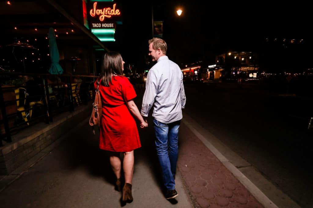 A walk downtown date idea: Downtown Gilbert AZ date night