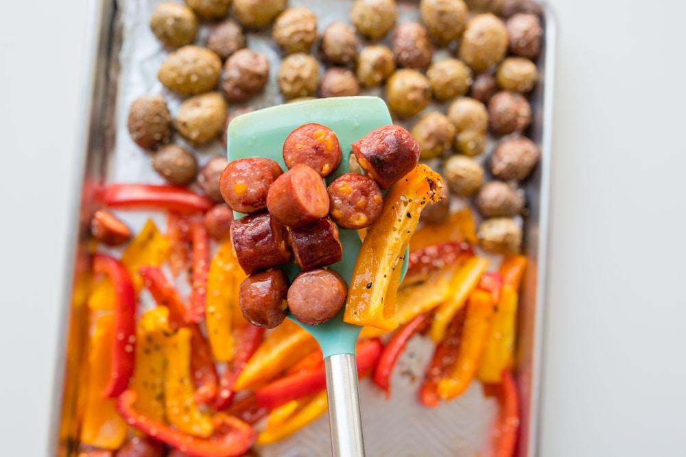 Sausage pepper and potato recipe
