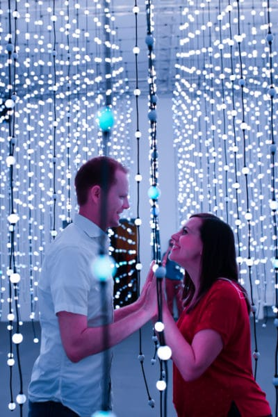 Wonderspaces: Interactive Art Installation Date Night