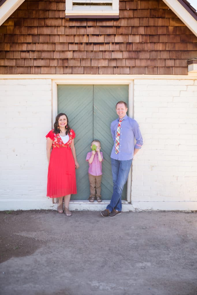 Family anniversary pictures