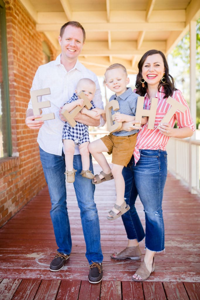 Anniversary family pictures