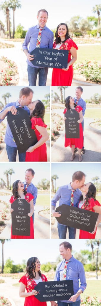 Couples pictures: document highlights of the year together