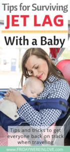 jet lag baby tips