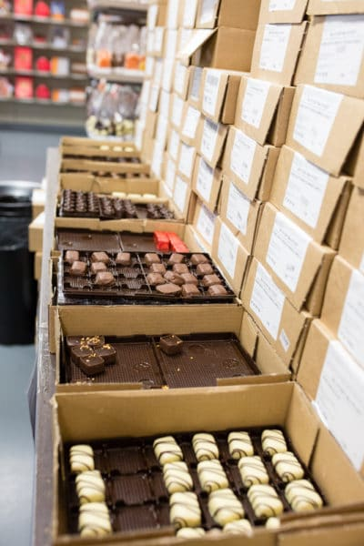 Neuhaus Chocolate: The Neahaus Belgian Chocolate Factory