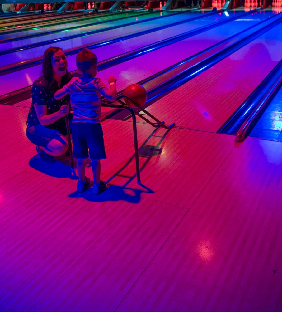 Bowling with bumpers