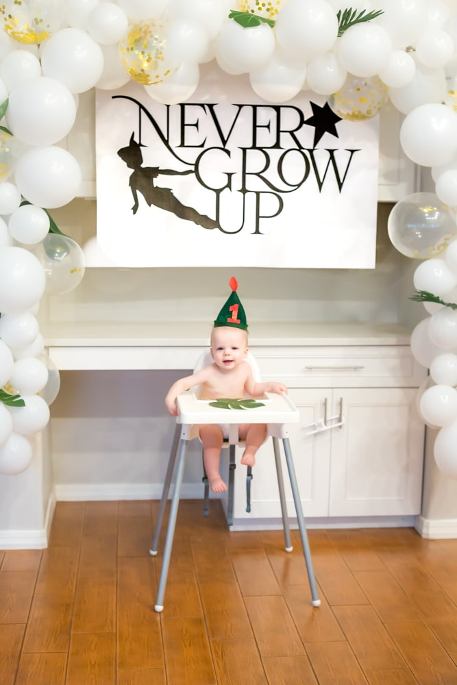 Never Grow Up 1st Birthday Party A Peter Pan Birthday