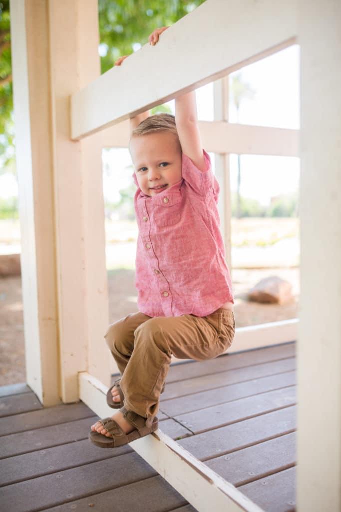Age three