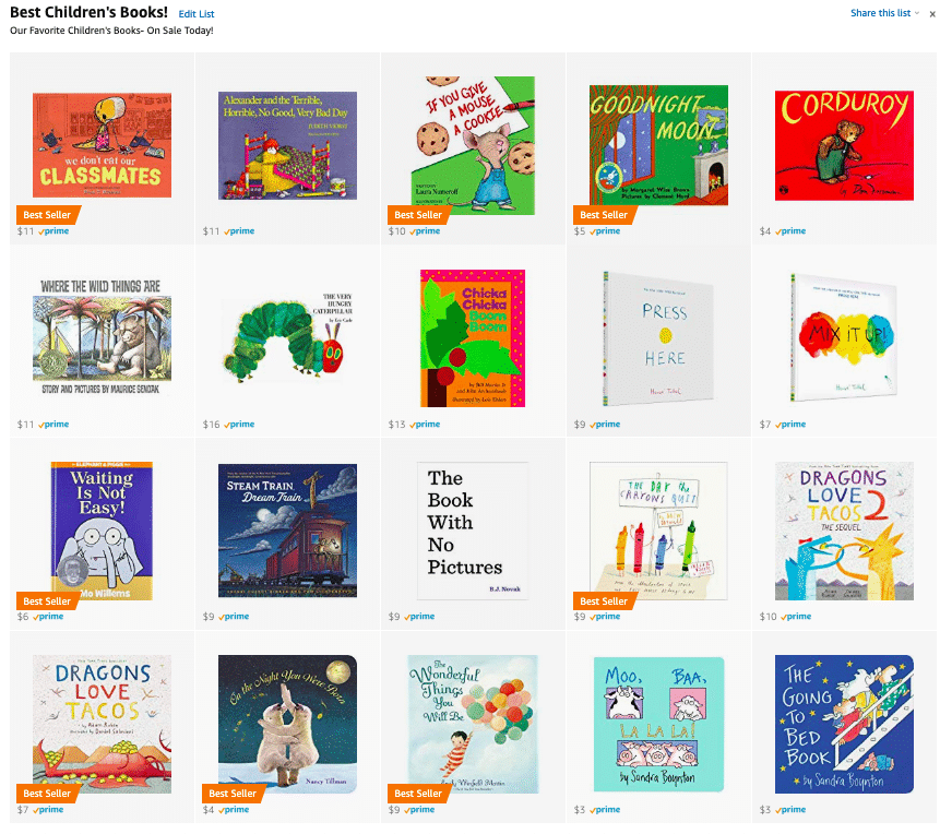 best children's books on sale