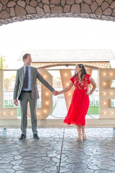 attending a wedding