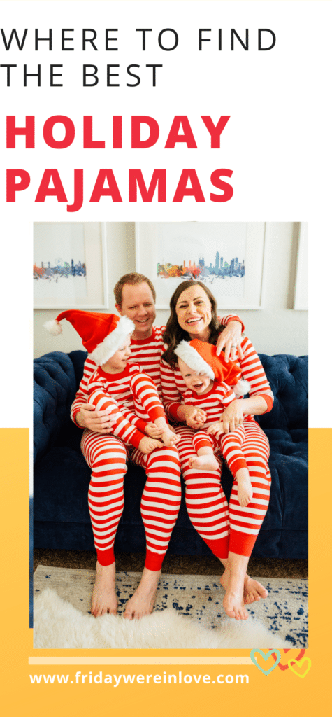 holiday pajamas for families