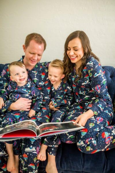 Family Matching Pajamas for Christmas