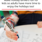 Kids Table Christmas Activities