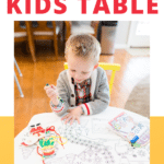 Christmas Kids Table