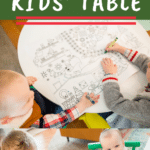 Tips for The Best Christmas Kids Table