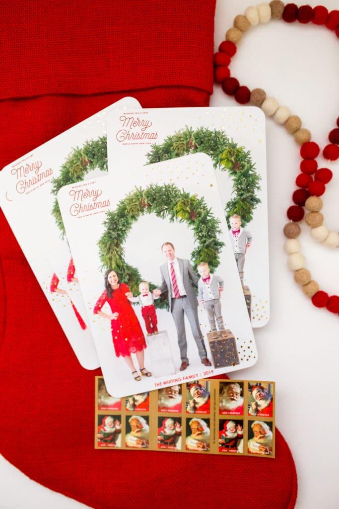 customized christmas cards