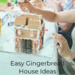 Easy Graham Cracker Gingerbread House