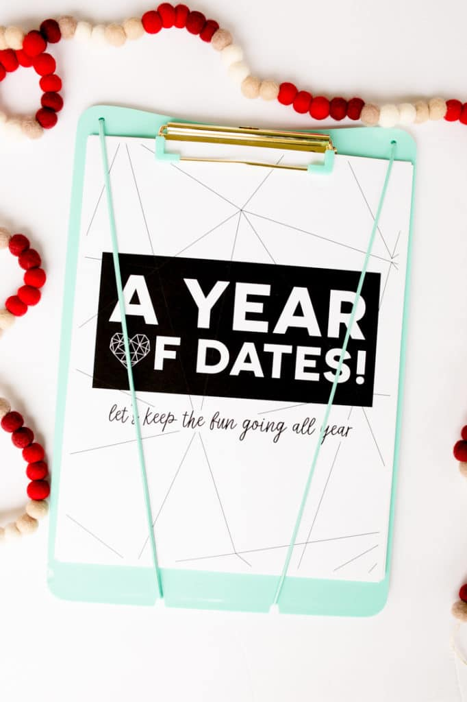 Year of date ideas Clipboard