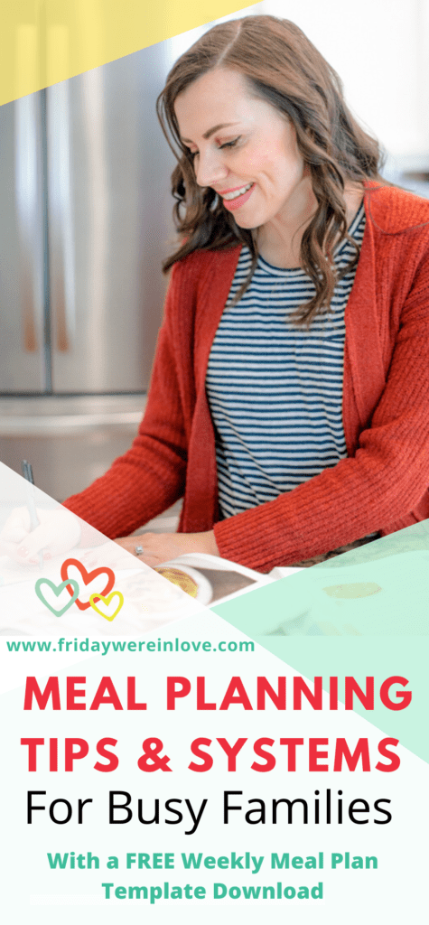 Meal Planning Tips & Systems for Busy Families