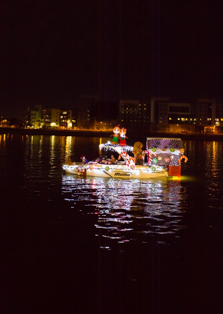 Tempe Towne Lake Light Parade