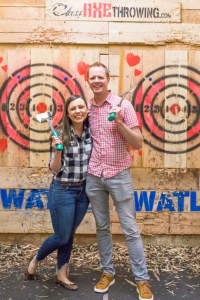 Axe Throwing Date