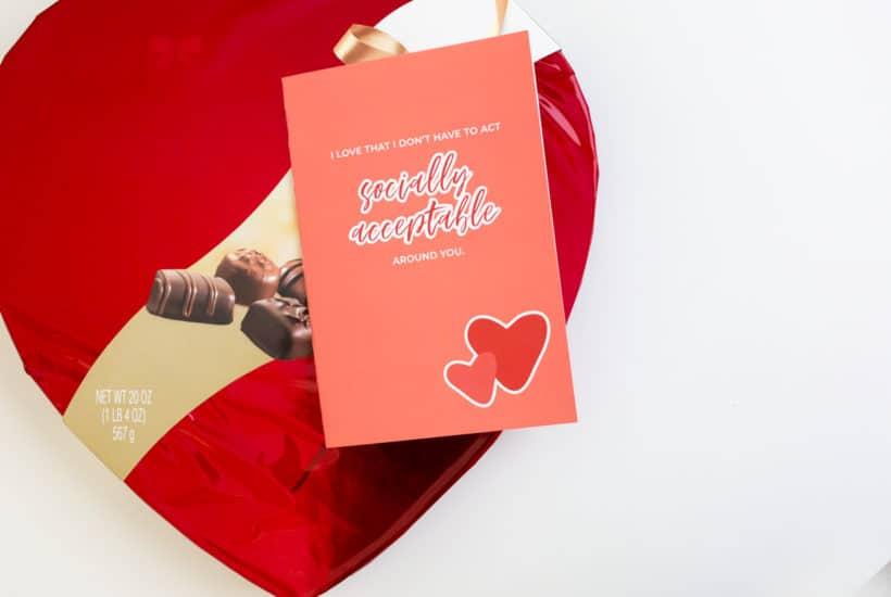 Funny Printable Valentine's Card