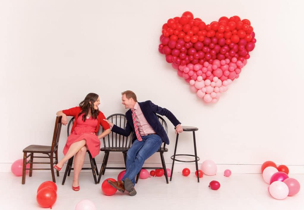 Valentine's Day Couple's Photo Shoot