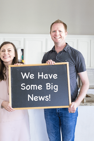 We Have some big news!