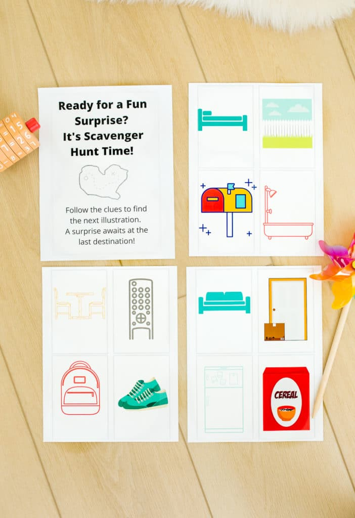 Scavenger Hunt Ideas and Free Printable