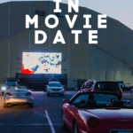 Outdoor Movie Drive In Theater Night