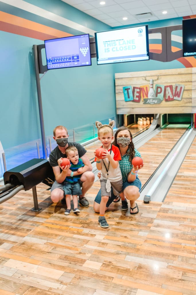 The Great Wolf Lodge Bowling