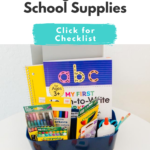 How to Organize School Supplies
