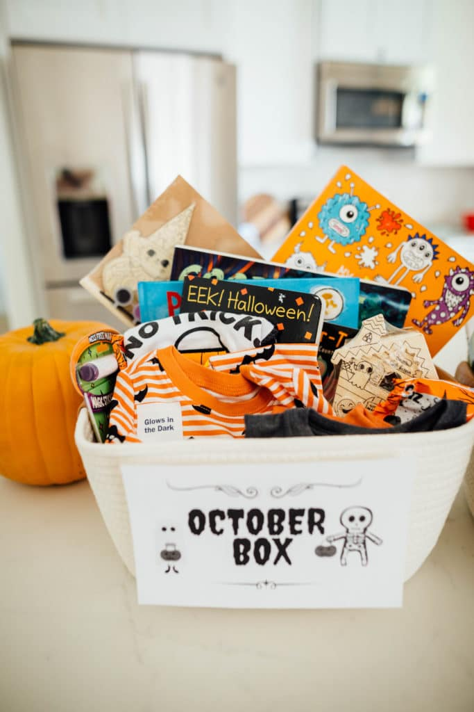 The October Box: A Fun Halloween Box to Celebrate All Month Long