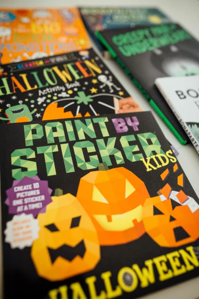 Halloween Activity Books