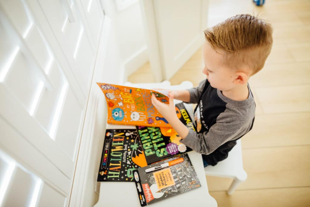 Halloween ACtivity Books for Kids