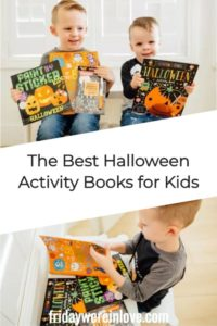 Halloween Activity Books for Kids Roundup