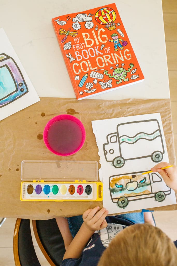 Easy Watercolor Painting for Kids