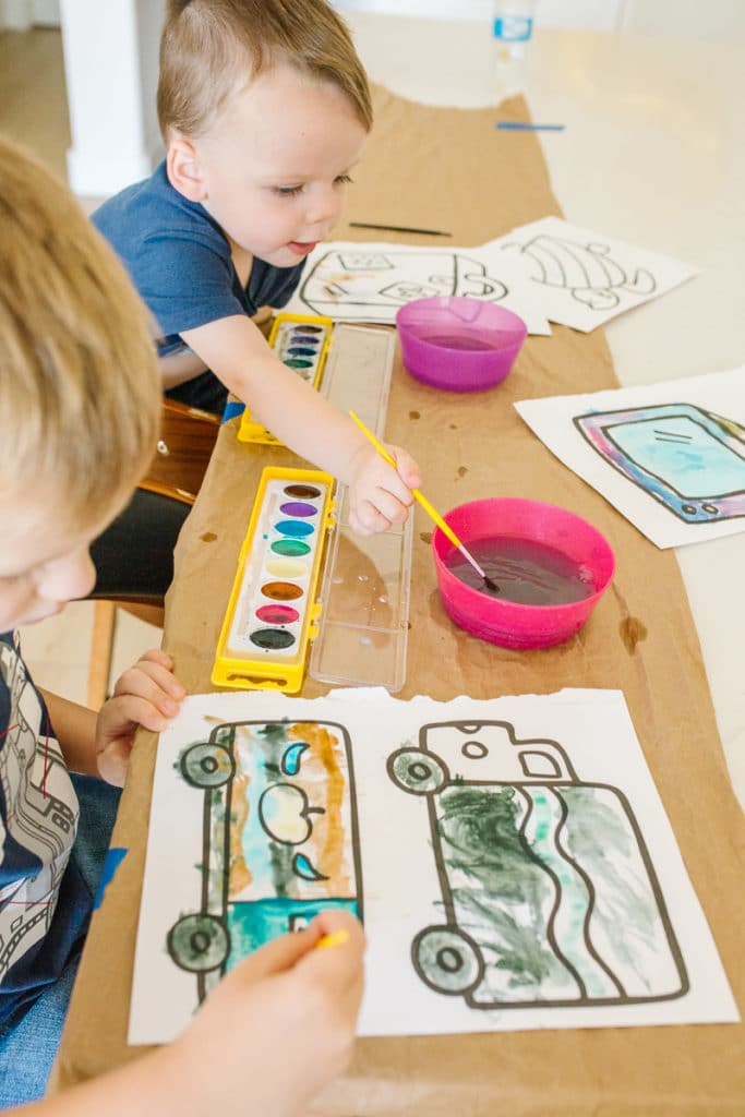 Watercolor Ideas for Kids